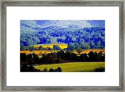 Blue Ridge Framed Print by David Lee Thompson