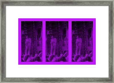 Bob Weir Grateful Dead  Dsm Ia Framed Print by Tim Donovan
