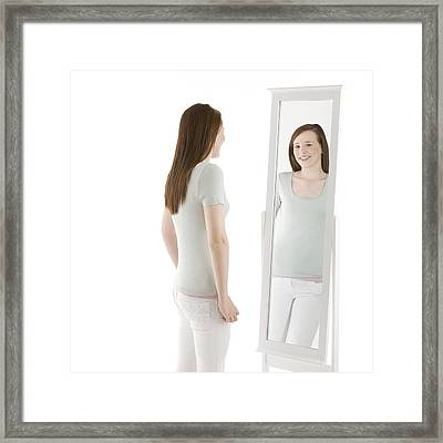 Body Image Framed Print by