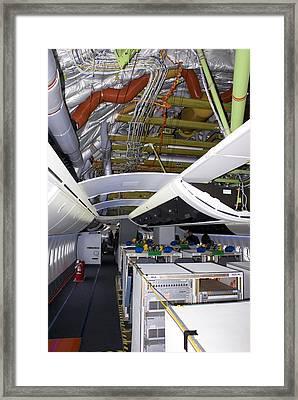 Boeing 747-8 Interior Framed Print by Mark Williamson