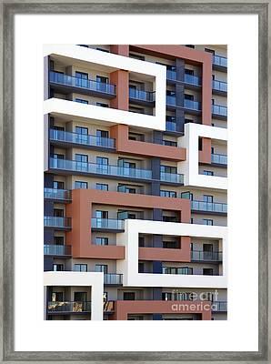 Building Facade Framed Print by Carlos Caetano