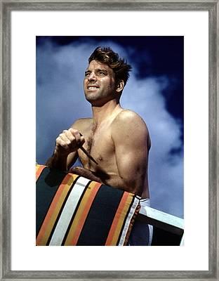 Burt Lancaster Framed Print by Everett