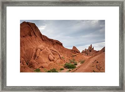 Canyon Skazka Framed Print by Konstantin Dikovsky