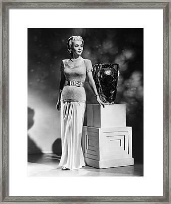 Carole Landis, Ca. 1941 Framed Print by Everett