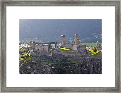 Castel Grande - Bellinzona Framed Print by Joana Kruse
