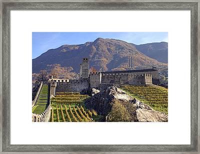 Castelgrande - Bellinzona Framed Print by Joana Kruse