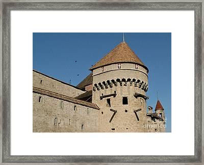 Castle Of Chillon  Framed Print by Evgeny Pisarev