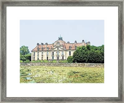 Chateau Fontaine Francaise Fontaine Francaise France Framed Print by Joseph Hendrix