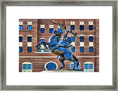 Chief Osceola And Renegade Unconquered Framed Print by Frank Feliciano