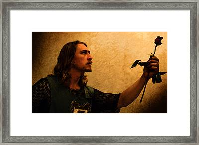 Chivalry Framed Print by Christopher Gaston