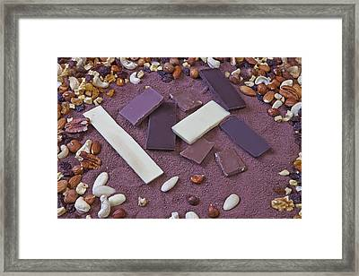 Chocolate Framed Print by Joana Kruse