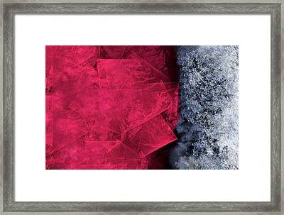 Christmas Frost Framed Print by Christopher Gaston