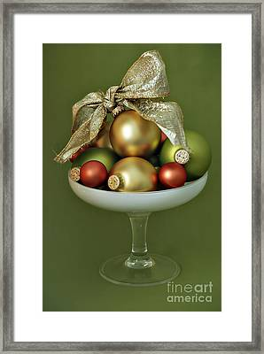 Christmas Ornament Framed Print by HD Connelly