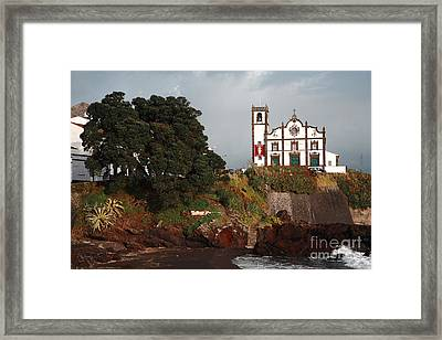 Church By The Sea Framed Print by Gaspar Avila