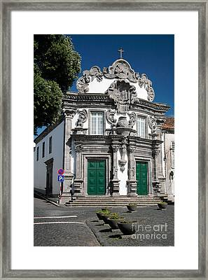 Church Framed Print by Gaspar Avila
