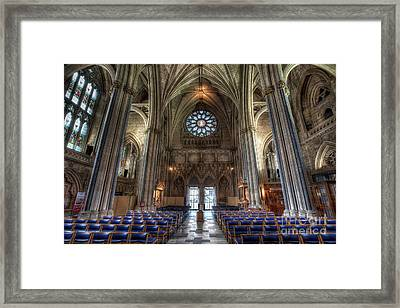Church Of England Framed Print by Adrian Evans