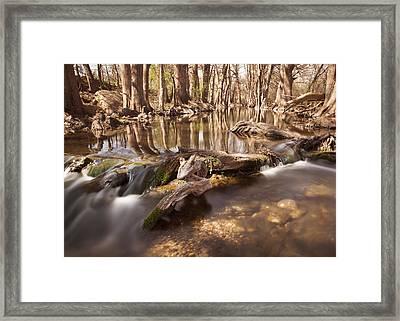 Cibolo Creek Framed Print by Paul Huchton