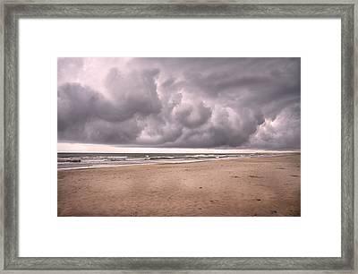 Coastal Storm Framed Print by Betsy Knapp