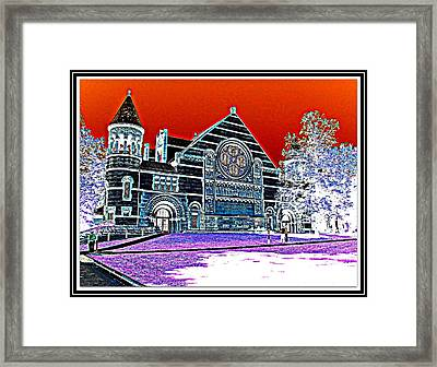 Color Abstraction-24 Framed Print by Anand Swaroop Manchiraju