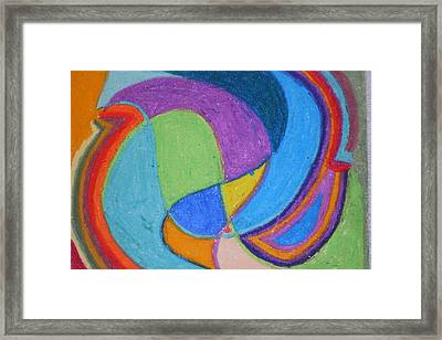 Confusion Framed Print by Genoa Chanel