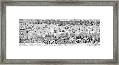 Constantinople, 1713 Framed Print by Granger
