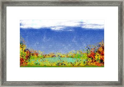 Contemplations Framed Print by Christopher Gaston