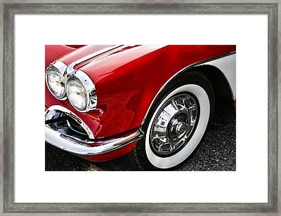 Corvette Beauty Framed Print by Bill Robinson