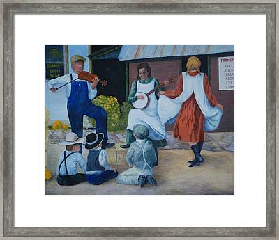 Country Music Framed Print by Ken Smith