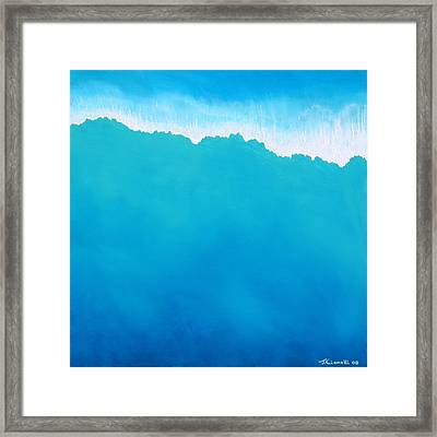 Crashing Wave Framed Print by Jaison Cianelli
