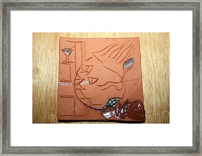 Crazy Pineapple Framed Print by Gloria Ssali