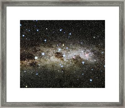 Crux Constellation Framed Print by Eckhard Slawik