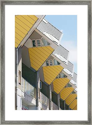 Cube Houses, The Netherlands Framed Print by Colin Cuthbert