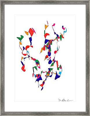 Definism Design 1 Framed Print by Darrell Black
