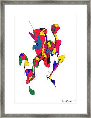 Definism Design 10 Framed Print by Darrell Black