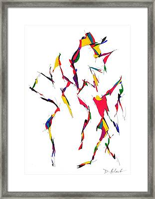 Definism Design 12 Framed Print by Darrell Black