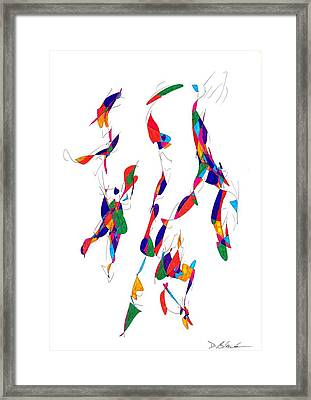 Definism Design 14 Framed Print by Darrell Black
