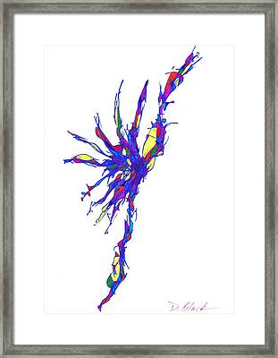 Definism Design 15 Framed Print by Darrell Black