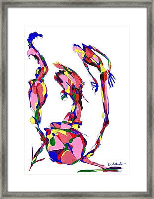Definism Design 19 Framed Print by Darrell Black