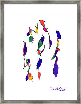 Definism Design 2 Framed Print by Darrell Black