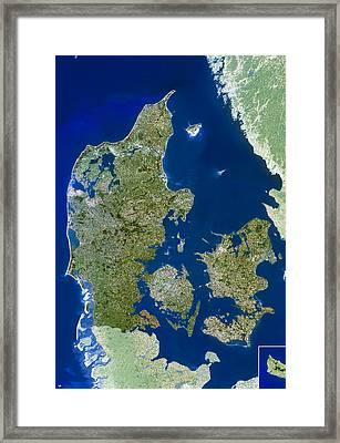 Denmark Framed Print by Planetobserver
