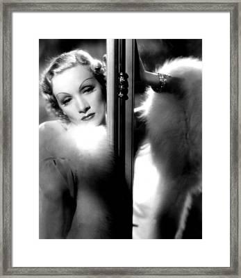Desire, Marlene Dietrich, 1936 Framed Print by Everett