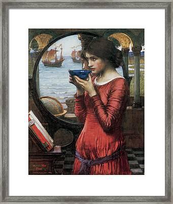 Destiny Framed Print by John William Waterhouse