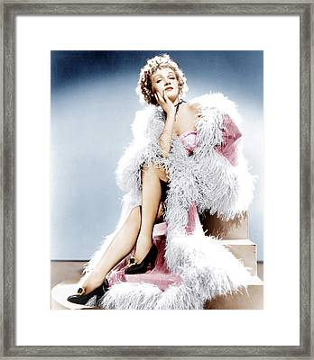 Destry Rides Again, Marlene Dietrich Framed Print by Everett