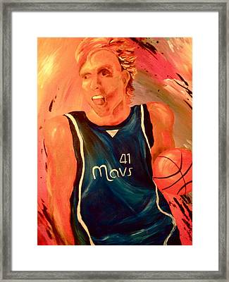 Dirk  Framed Print by Amy Buyers