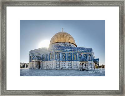 Dome Of The Rock Framed Print by Noam Armonn
