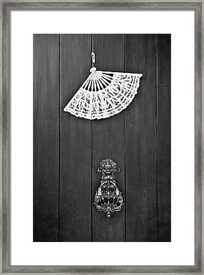 Door Knocker Framed Print by Joana Kruse