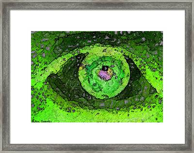 Double Vision Framed Print by Jen Sparks