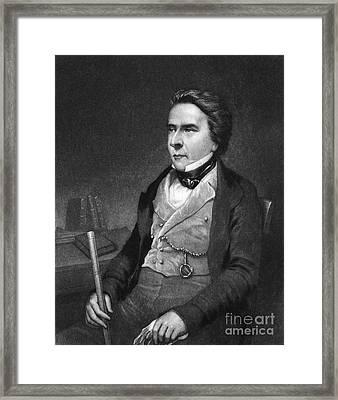 Douglas William Jerrold Framed Print by Granger