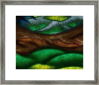 Dragon's Tale Framed Print by Christopher Gaston