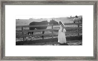 Dress 32 Framed Print by Betsy C Knapp